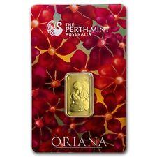 10 Gram Gold Bar Oriana - Perth Mint - 99.99 Fine in Assay