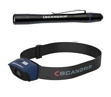 SCANGRIP Set DEL Capteur 2 Lampe au Chapeau Lampe frontale & Flash Pen stifltampe Piles