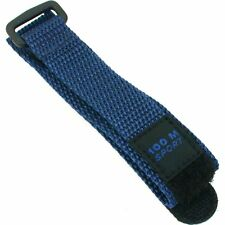 Watch Band Blue Nylon Sport Military Strap 19mm New
