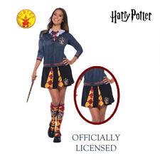 Gryffindor Harry Potter Costume Licensed Adult Teen Girl Bookweek Hermione Skirt