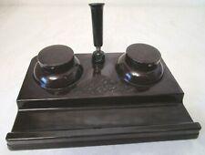 Art Deco Bakelit Schreibtischgarnitur Helit DRGM, sehr dekorativ TOP (G248)xx