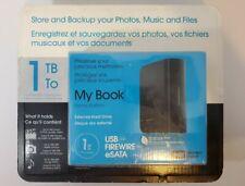 Western Digital My Book Home Edition 1TB USB 2.0 Firewire 400 Desktop Hard Drive