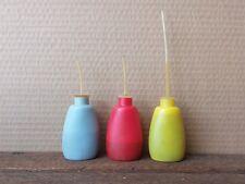 3 Vintage Specialised ACI Squeeze Oiler Bottles