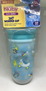 Nuby Light -Up Active Sipeez 360 Wonder Insulated  Cup 12+