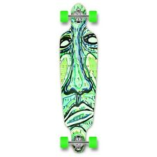 Yocaher Drop Through Longboard Complete - Countdown