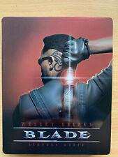 Blade 1998 Marvel Universe Rare Futureshop Canadian Region A Blu-ray Steelbook
