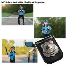 Children Toys Special Police Print Chain Officer Badges Card Cosplay Tools funny