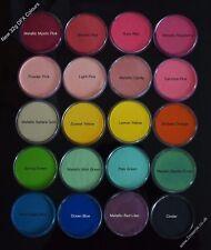 32g Diamond FX (DFX) Plain Face Paints - Essential, Metallic, Neon.