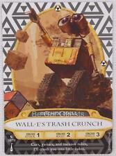 Disney Sorcerers the Magic Kingdom Card 39 Wall-e's Trash Crunch New