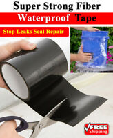 Waterproof Stop Leaks Seal Tape Super Strong Repair Tape Self Fiber Fixing Duct