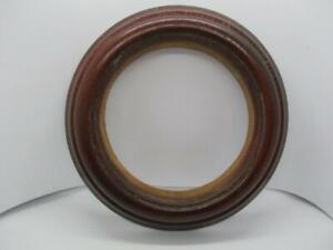 Fantastic Antique Victorian Mahogany  -  Round Photo Picture Frame c1850
