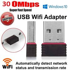 Mini USB Wifi Wirless Dongle Adapter 300 MBPS 802.11 Lan Network KR08EE Card UK