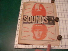 Original - #1 NEW SOUNDS underground electric fan magpaper  july 24- aug 23,1968