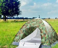 New listing Outdoor Camping Auto 3-4 Person Pop Up Dome Tent Camouflage Hiking Family Travel