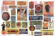JL Innovative 427 HO 1930's-1950's Vintage Tobbacco/Cigar/Beer Signs (30)