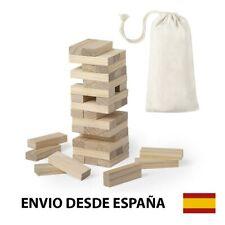 Juego Madera Bloques Torre Equilibrio Tipo Jenga 45 Piezas  Enviado desde España