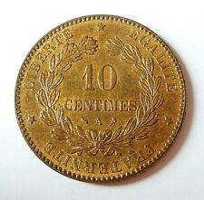 CERES  10 centimes 1897 A  splendide