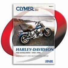 1993-1998 Harley Davidson Fxdwg Dyna Wide Glide Repair Manual Clymer M424-2