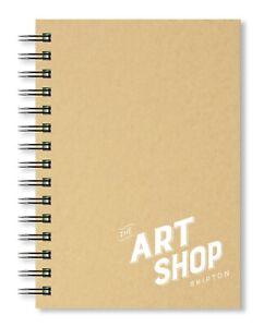 The Art Shop Skipton Cartuccia Carta Kraft Cover Schizzi A5 (40 Fogli)