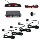 4 Parking Sensors LED Display Vehicle Car Auto Backup Reverse Radar System Alarm