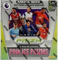 2020-21 Panini Prizm Premier League Soccer Mega Box (Pink Ice Prizms)
