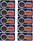 Lot 10 Fresh SONY CR2032 DL2032 ECR2032 CMOS Lithium 3V Watch Battery Exp 2027
