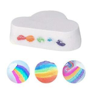 Rainbow Cloud Bath Shower Bomb Skin Care Essential 100G Jasmine//Lavender X1J2