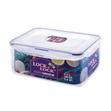 Lock & Lock Plastic Clip Lid Classic Rectangular Food Storage Container (5.5L)