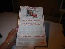 Vintage Leukemia Fundrasier Counter Display Zigg Get The Picture 1992