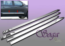 FOR 2007-2017 TOYOTA TUNDRA DOUBLE/CREW CAB CHROME SIDE LOWER MOLDING TRIMS NEW!