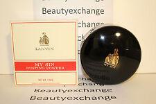 My Sin Lanvin Perfume Dusting Powder 7 oz Boxed