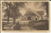 Ansichtskarte Niedersächsisches Bauernhaus - Borgholzhausen - seltene Aufnahme