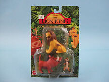 Disney's The Lion King Collectible Figures Simba, Timon, Pumbaa Set Mattel