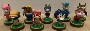 HUGE LOT 9 Different Amiibo Figures Nintendo Wii U Animal Crossing USA