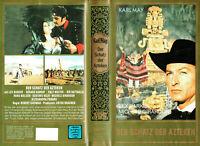 (VHS) Der Schatz der Azteken - Lex Barker, Gérard Barray, Rik Battaglia