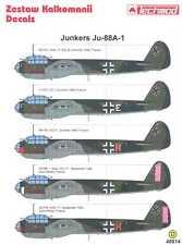 Techmod Decals 1/48 JUNKERS Ju-88A-1 Bomber
