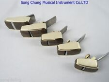 5pcs smooth convex bottom brass wrap blackwood planes ,violin/viola making tool