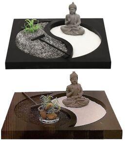 BUDDHA ZEN GARDEN TEA LIGHT CANDLE HOLDER SPIRITUAL HOME DECORATION ORNAMENT