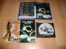 MUSIC 3000 DE JESTER INTERACTIVE PARA LA SONY PLAY STATION 2 PS2 USADO COMPLETO