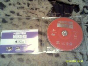 Happytime Murders DVD D.C DIGITAL COPY CODE  Melissa McCarthy DIRTY PUPPETS