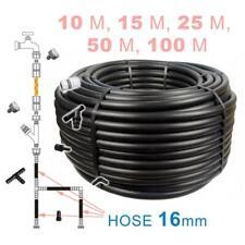 More details for super strong black ldpe garden__16mm_hose pipe reel reinforced 4~6 bar - 10~100m