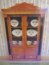 Dolls House Furniture  Biedermeier China Display Cabinet  KIT   MD40096