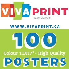"""100 Gorgeous Colour Posters 11X17""""  Only $67"""