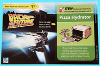 1 BACK TO THE FUTURE CARD GAME PIZZA HYDRATOR PROMO CARD Looney Labs Postcard