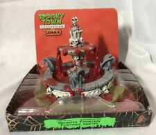 Lemax Spooky Town Accessory ~ Table Accent ~ HAUNTED FOUNTAIN ~ #03814