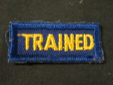 Cub Scout Leader Trained Strip 1950-60's  c32