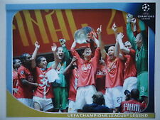 Panini 561 manchester united UEFA Champions League Legend 2008/09