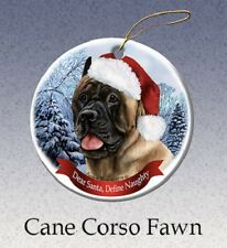 Define Naughty Ornament - Fawn Cane Corso