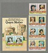 Royalty - Queen Mother Large Thematic Stamp Selection 6 SCANS (3170)