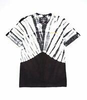 True Religion Tie Dye Crew Neck Tee T-Shirt Men's Sz XL  MSRP $79 White Black